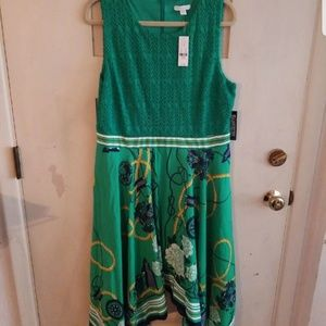 New York & Company Nautical dress NWT